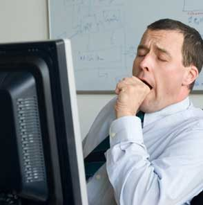 Pikiran sudah tak bisa konsentrasi karena lelah. Untuk itu perlu rehat sejenak agar tak stres terhadap pekerjaan.