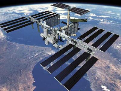 Stasiun luar angkasa internasional bernilai 100 milyar dollar USA.