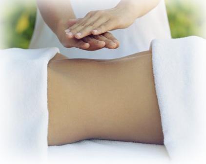 Penyaluran reiki langsung ke bagian yang sakit, misalnya pinggang dengan tidak menempelkan telapak tangan ke tubuh pasien. Gabungan energi reiki dan kundalini untuk kasus syaraf terjepit atau cedera otot punggung.