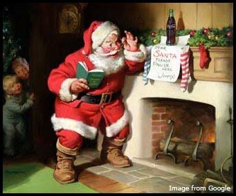 Beberapa ornamen yang selalu menghiasi perayaan Natal, antara lain, pohon Natal, Santa Claus, kerlap-kerlip lampu hias, dan gua Natal.