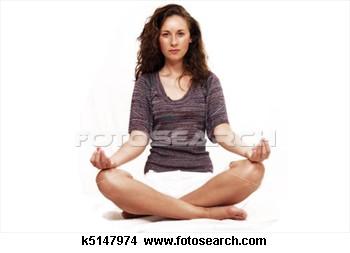 Langkah persiapan rileksasi dengan mengatur pola pernapasan.