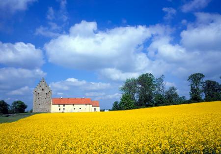 Glimmingehus, a medieval manor in Skåne Pemandangan indah