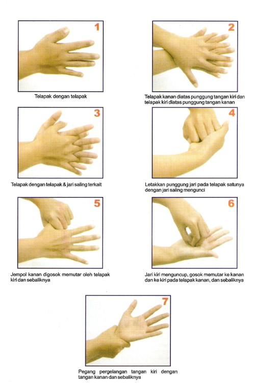 Dari Andrew Weil, MD, direktur Program in Integrative Medicine di College of Medicine, University of Arizona: 1. Bernyanyi sambil mencuci tangan. Maksudnya, cuci tangan Anda dengan sabun dan air hangat selaam 15-20 detik. Waktunya kurang lebih sama dengan saat Anda menyanyi lagu Happy Birthday dua kali.