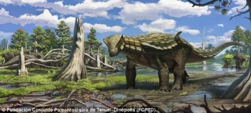 Images Europelta Carbonensis Palaeontologists have uncovered a new species of tank-like dinosaur in a century-old Spanish coal mine. The new dinosaur has been named Europelta carbonensis