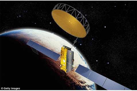 Satelit Inmarsat Inggris.