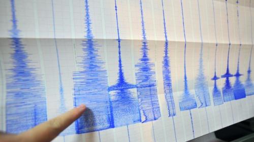 Grafik terjadinya gempa besar sejak tahun 1979 meningkat lebih dari dua kali lipat