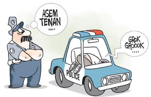 maling taksi