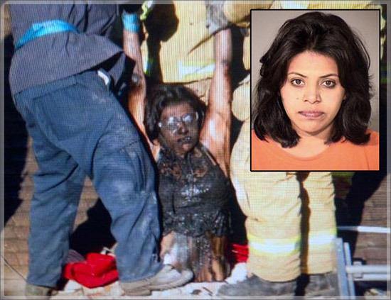 Perlahan-lahan tubuh Nunez berhasil dikeluarkand dari jepitan cerobong asap.