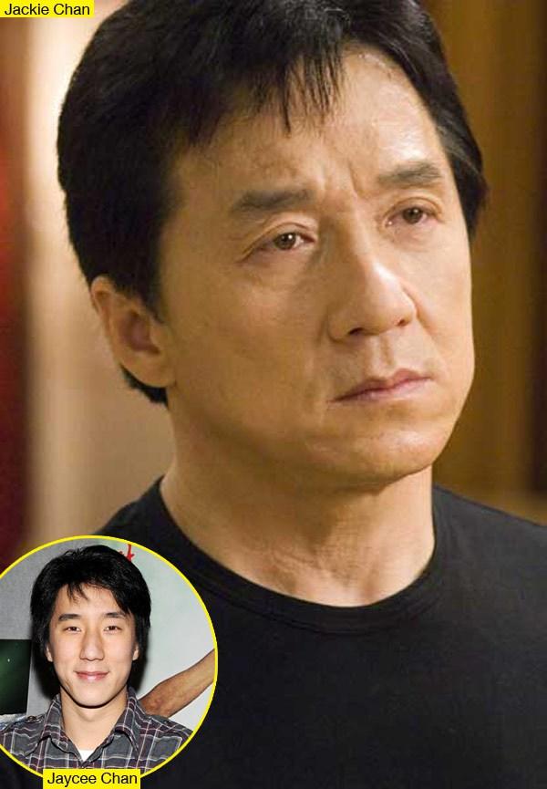 Son bintang laga Jackie Chan Jaycee ditangkap karena dicurigai ganja kepemilikan pada 14 Agustus , dan Jackie adalah ' malu ' tentang hal itu, menurut sebuah laporan baru .