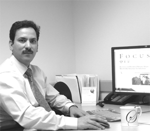 Khalid Shah peneliti Sekolah Kedokteran Harvard.