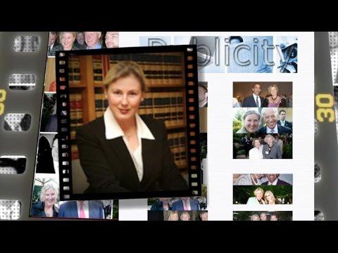 Foto-foto tokoh terkenal AMerika di dinding laman pribadi Svitlana Sangary.