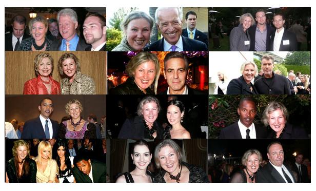 Foto asli para tokoh lalu disandingkan dengan foto pribadi Sangary dengan bantuan komputer. Hasilnya, foto Sangary bersanding dengan foto para tokoh pujaannya.
