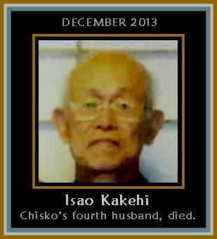 Kakehi Isao, suami keempat Chisako tewas.
