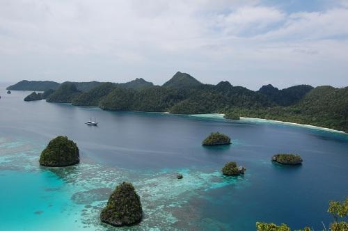 Pulau Wei Raja Ampat.