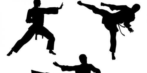 Ilustrasi saat tiga karateka Tiongkok yang menguasai jurus karate melawan perampok. Ilustrasi : Shutterstock.