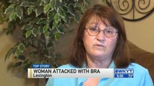 Patricia Leece menceritakan urutan kejadian kepada wartawan kantor berita UPI.