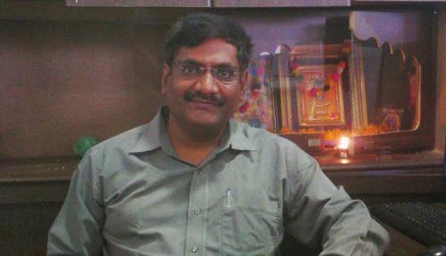 Bhavik Joshi Ketua Dewan Kota  Ahmedabed.