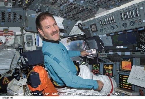John Grunsfeld, pengelola Direktorat Misi Sains NASA.