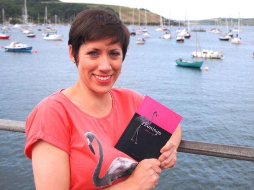 """Dr Caitlin Kight selain meneliti perilaku burung akan suara bising, juga menulis buku barunya berjudul Caitlin Kight dengan bukunya yang baru , """" Flamingo , """" dan flamingo , tentu saja ."""