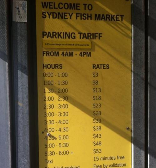 Tarip parkir di Sydney begitu mahal, membuat pemilik mobil yang parkir menggerutu.