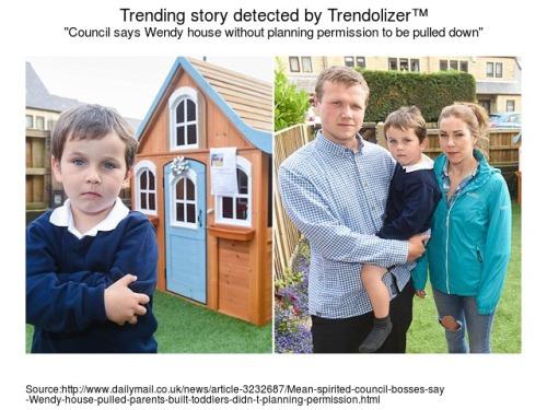 Rumah mainan hadiah untuk Jacob menjadi topik pembicaraan media lokal Oldham.