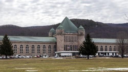 Lembaga pemasyarakatan Eastern New York Correctional Facility di Amerika Serikat. (Istimewa) .
