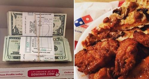 Tumpukan uang 2 ikatan dalam kardus ditemukan Mike Vegas. Karena bukan miliknya, maka uang itu dikembalikan ke toko piza. Sebagai hadiah kejujurannya, manager toko piza memberikan hadiah piza gratis selama 1 tahun.