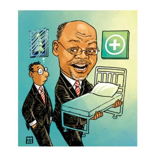 Pejabat Tanzania harus hidup sederhana dengan menyisihkan dana 100.000 dollar AS untuk membeli tempat tidur pasien di rumah sakit yang terpaksa tidur di lantai. Sebuah himbaun kepada pejabat yang memerintah agar peduli pada rakyat miskin di Tanzania.