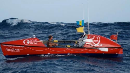 Mr Beeden berlayar lebih dari 7.000 mil di perahu 6m nya Socks II