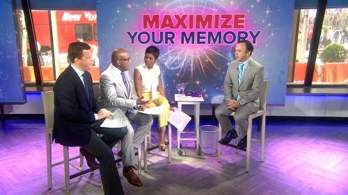"""Dr Majid Fotuhi , seorang ahli saraf dan penulis """" Meningkatkan Otak Anda , """" bergabung TODAY untuk mengungkapkan beberapa teknik yang dapat digunakan untuk menjaga memori Anda tajam baik ke usia tua ."""