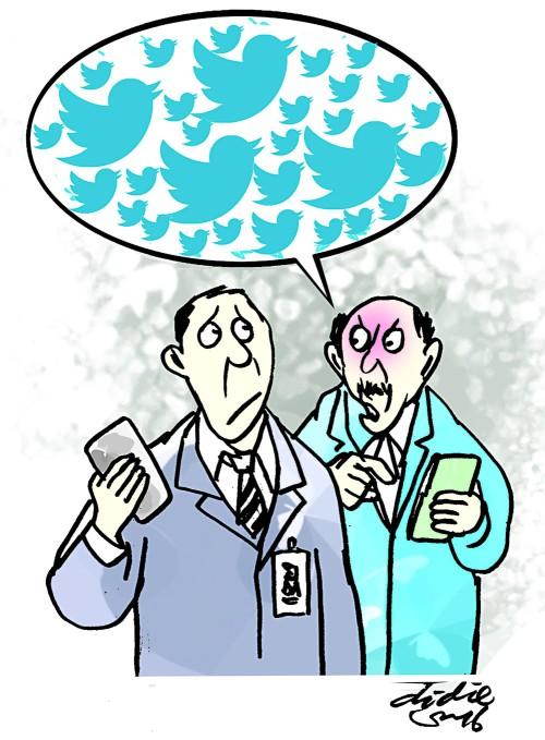 Ilustrasi Didie SW, jike menulis pesan di akun media sosial twitter hari-hati pesannya. Teliti dulu isi pesan sebelum dipublikasikan ke khalayak pengguna media sosial twitter.