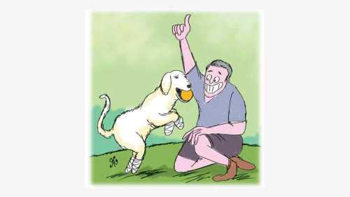 Chi Chi anjing yang keempat kakinya luka, mendapat majikan baru, keluarga Howell,