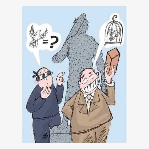 pencuri sarang burung patung