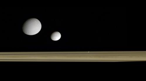 Tim peneliti pun menemukan bahwa banyak dari bulan Saturnus--kecuali yang jauh seperti Titan--mungkin terbentuk 100 juta tahun lalu. Artinya, banyak dari bulan Saturnus terbentuk selama Periode Cretaceous di Bumi, era di mana banyak dinosaurus masih hidup.