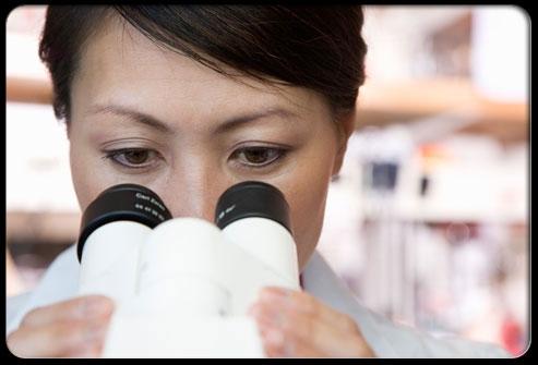 Jika tumor diduga terlihat pada sinar-X, atau sel-sel kanker  muncul dalam tes dahak, biopsi digunakan untuk mengkonfirmasi diagnosis. Sebuah contoh kecil dari massa yang mencurigakan dihapus, biasanya dengan jarum, untuk diteliti di bawah mikroskop. Dengan mempelajari sampel, patolog dapat menentukan apakah tumor adalah kanker paru-paru, dan jika demikian, seperti apa.