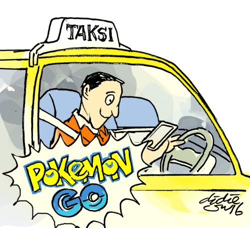 taksi pokemon