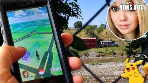 Aplikasi permainan Pokemon di telepon pintar akhirnya membawa korban. Shayla Wiggens ( insert ) melihat