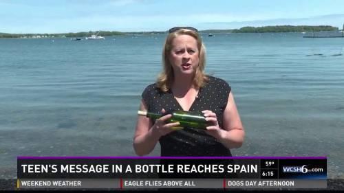 Tiga tahun dan lebih dari 3.000 mil kemudian, pesan dalam botol ditemukan di Spanyol