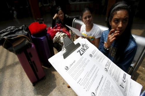 Sosialisasi ancaman wabah virus Zika di Kolombia. Kasus penularan virus Zika pertama kali dilaporkan terjadi di Texas, Amerika Serikat (AS). Virus itu dilaporkan menular melalui hubungan seksual dan tidak melalui gigitan nyamuk.| (Reuters)