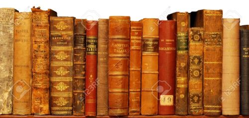 Buku kuno koleksi perpustakaan