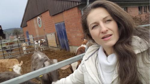 Nancy Holten menjelaskan mengapa ia menjadi seorang vegetarian.