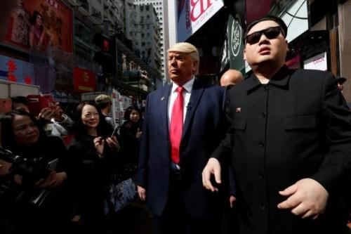 Sementara untuk tokoh Donald Trump dimainkan